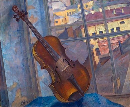 """1918/"""" Poster Print /""""Violin"""