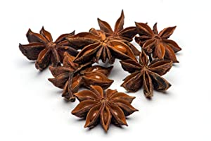 Slofoodgroup Whole Star Anise - For Cooking, Pickling and Spice Mixes - 16 Ounces/1 Pound