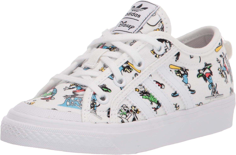 adidas Originals Unisex-Child Nizza X Disney Sport Goofy Sneaker