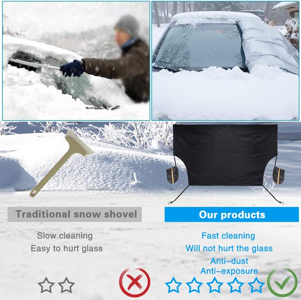 CITROEN C4 CACTUS Front Windscreen Frost Snow Ice Screen Cover Protector