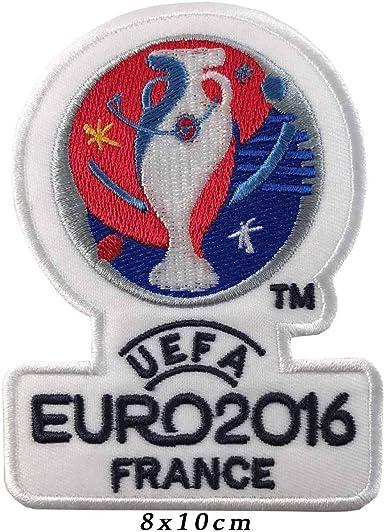 perfect patches Parches bordados para planchar o coser UEFA EURO FRAN 2016: Amazon.es: Ropa y accesorios