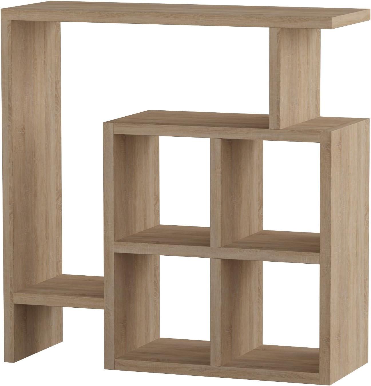 Ada Home Décor Smith Side Table, 22'' x 22'' x 8'', Oak