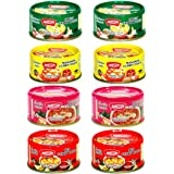 Maesri Variety Curry Paste 8pk (2) Green, (2) Red, (2) Masaman, & (2) Panang Curry Sauce (Pack of 8)