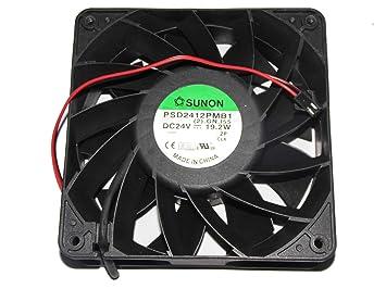 Siemens Inverter Fan,SUNON 12038 PSD2412PMB1 24V 19 2W 2wire
