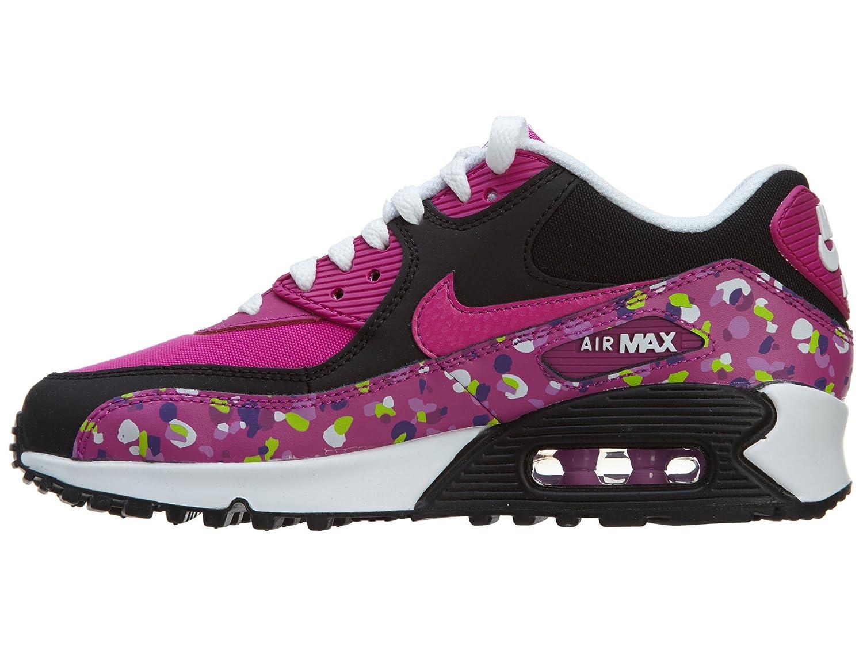 Nike Air Max 90 Premium Mesh (GS) Schuhe fuchsia flash