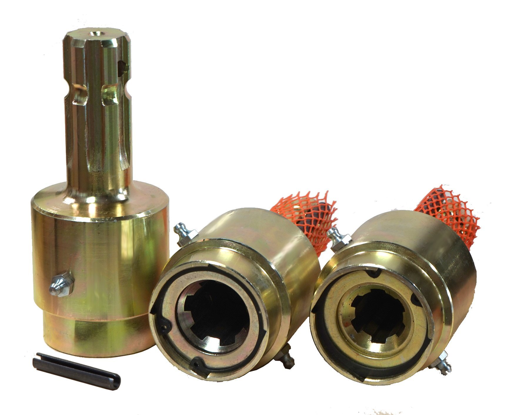 Over Running PTO Overrun Clutch 1-3/8'' x 6 Female to 1-3/8'' x 6 Male