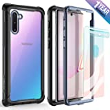Samsung Galaxy Note 10 Case - FITFORT Full Body Rugged Heavy Duty Clear Bumper Case with Screen Protector, Shock Drop…