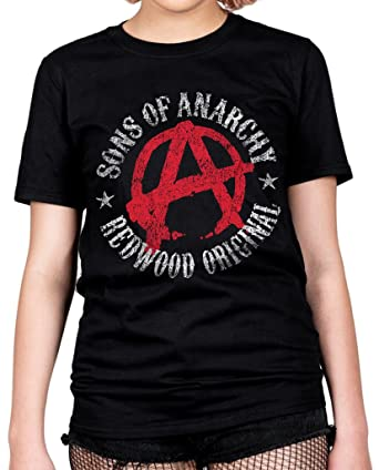 ec98cb93791 Official Sons Of Anarchy Symbol Unisex T-Shirt Licensed Merch Redwood  Original  Amazon.co.uk  Clothing