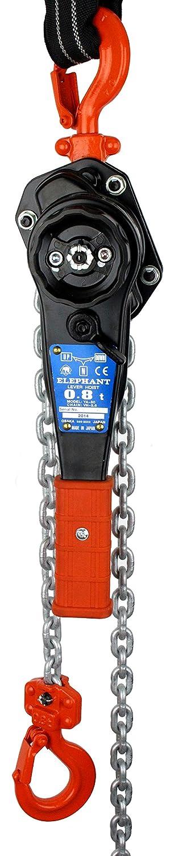 Elephant 800kg Manual Hand Ratchet Chain Lever Hoist 6mtr Winch Lift Pull