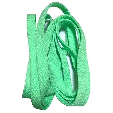 bb5b936c266b Amazon.com  Dorathywatm 8mm Wide of Flat Shoelaces Shoe Laces for ...