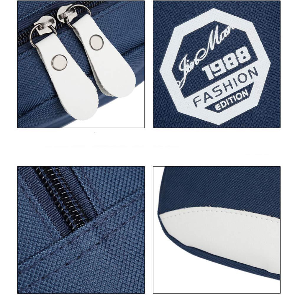 PrettyAll Men's Shoulder Bag Sling Backpack, Multipurpose Crossbody Shoulder Bag Travel Hiking Daypack (Blue, L17W8H26) by PrettyAll Bag (Image #5)