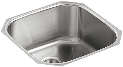 KOHLER K-3335-NA Undertone Extra Large Rounded Undercounter Kitchen ...