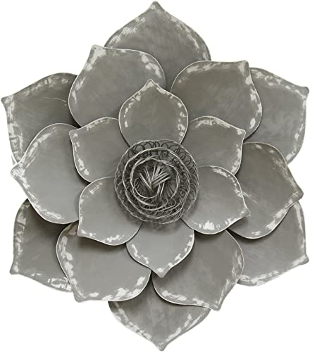Stratton Home Decor S07656 Lotus Wall Decor