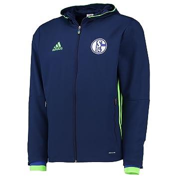 adidas Men's S04 Pre Fc Schalke 04 Jacket: Amazon.co.uk