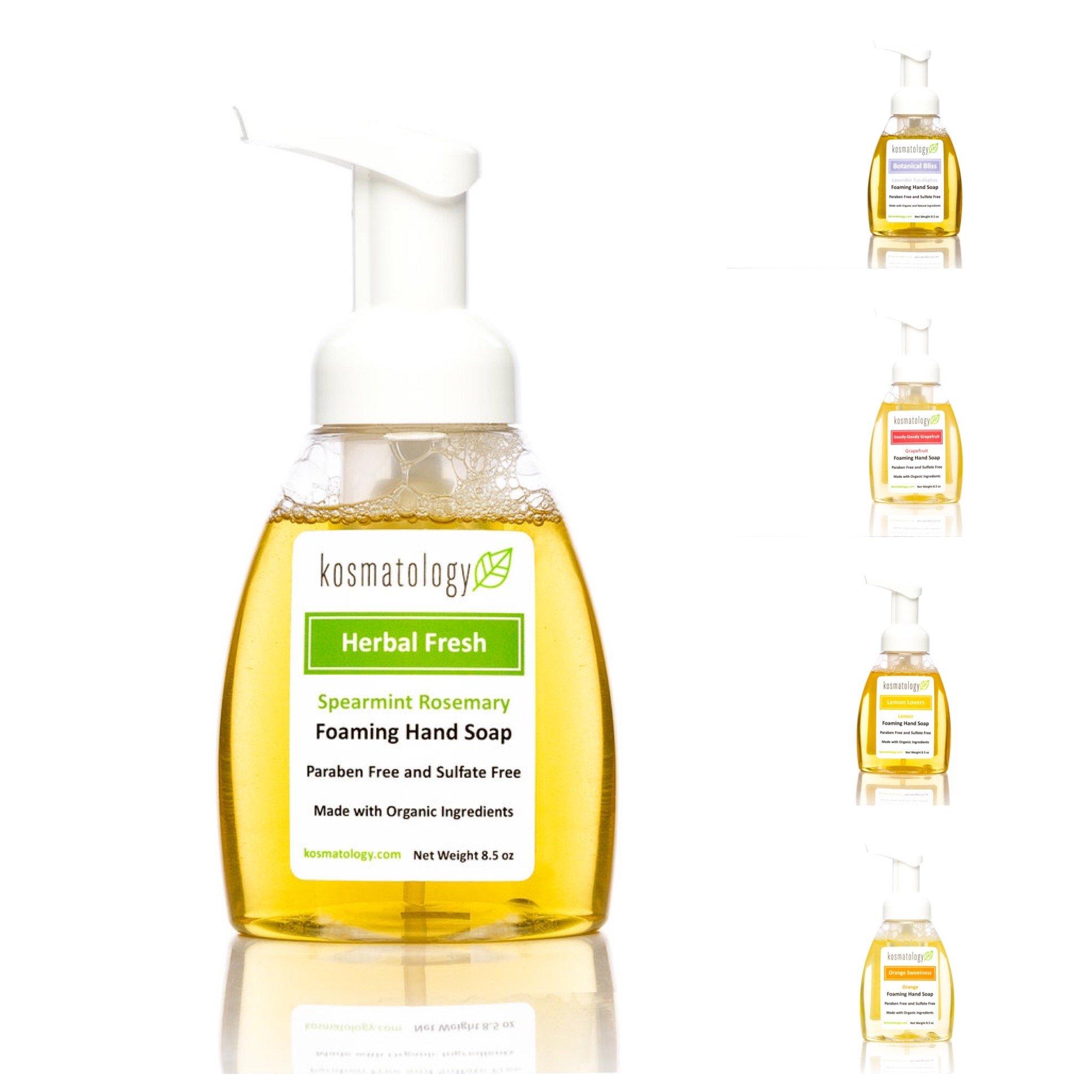 Foaming Face Wash Lemongrass - 6 fl. oz. by Kosmatology (PACK OF 6) Darphin - Dark Circles Relief & De-Puffing Eye Serum -15ml/0.5oz