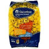 M Carrefour Pasta Conchigle Rigate - 400 gm