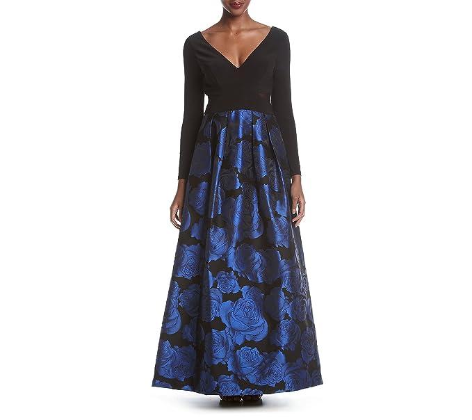 Vestido negro o azul