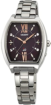 ORIENT watch iO Io costume jewelry Solar radio WI0171SD dark brown WI0171SD Ladies  sc 1 st  Amazon.com : watches costume jewelry - Germanpascual.Com