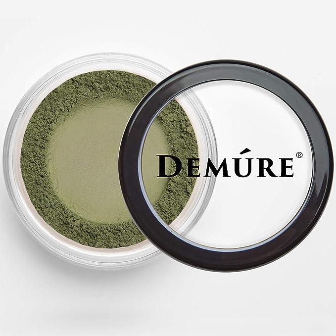 Amazon.com : Mineral Make Up (Green Khaki) Eye Shadow, Matte Eyeshadow, Loose Powder, Organic Makeup, Eye Makeup, Natural Makeup, Professional Makeup By Demure : Beauty