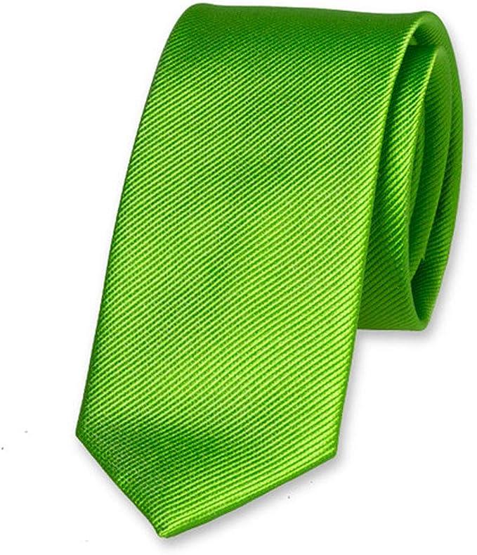 Accessoirespezialist.de - Corbata - para hombre Verde verde ...