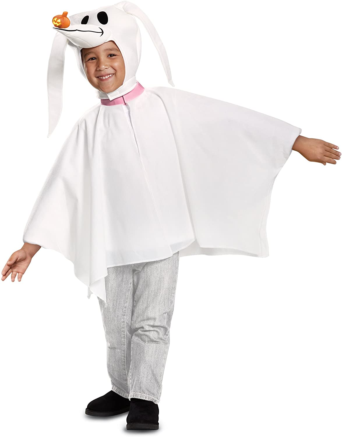 Ghost Girls Child Classic Halloween Character Costume Poncho