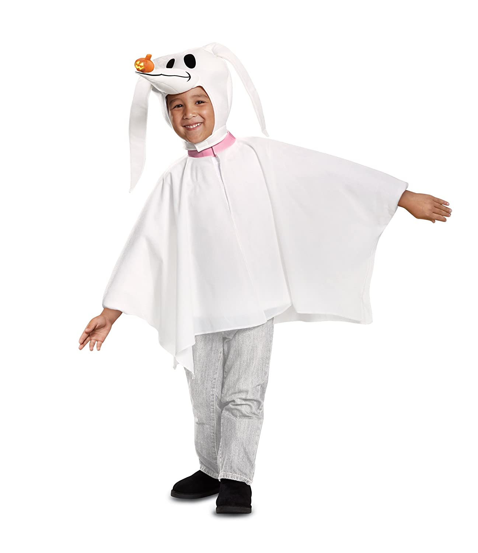 Amazon.com: Disguise Zero Classic Toddler Child Costume, White, Size ...