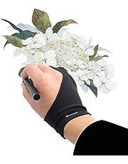 Huion Artist Glove per Graphics Drawing Tablet - Cura CR-01 (1 unità di misura libera, buona per la mano destra o sinistra)