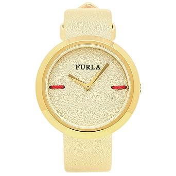 2dec7f26df92 [フルラ] 腕時計 レディース FURLA 944205 r4251110507 イエローゴールド [並行輸入品]