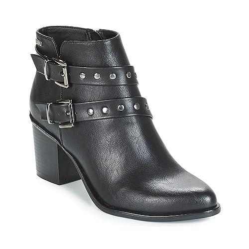 Botines Mustang 57654 Negro - Color - Negro, Talla - 39: Amazon.es: Zapatos y complementos