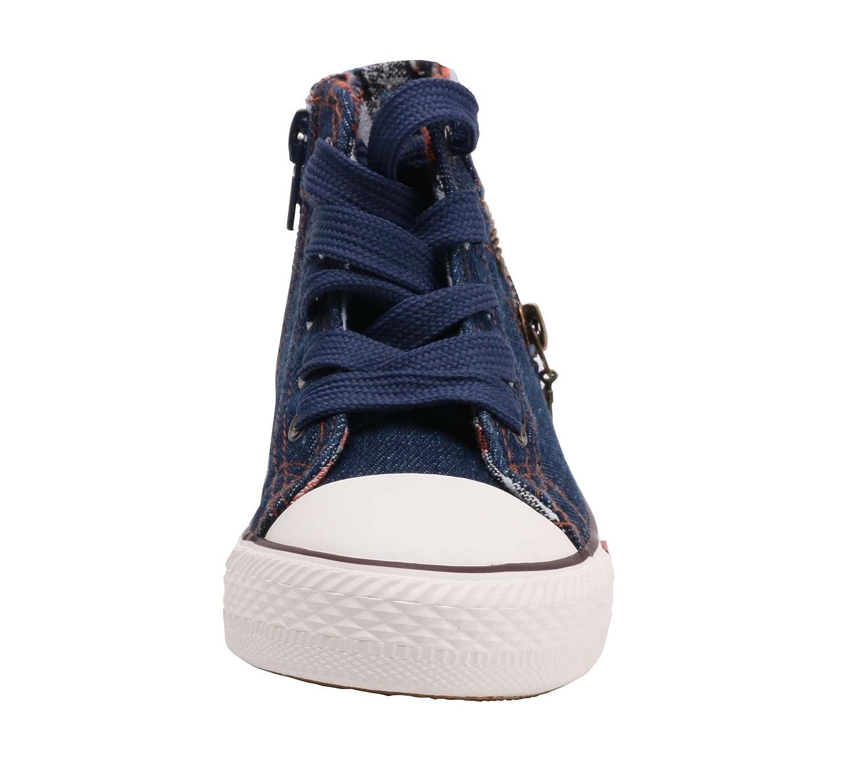 LONSOEN Girls Light Weight Casual Sports Sneakers Toddler//Little Kid