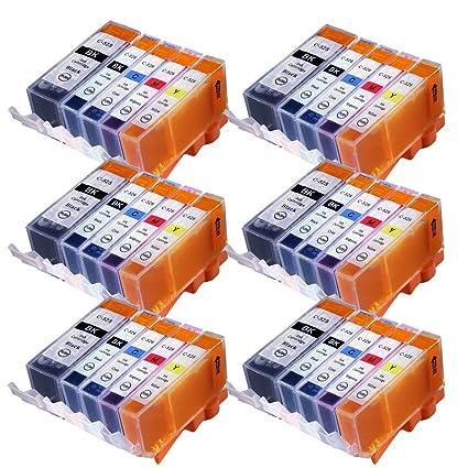 WOPPO - Cartuchos de tinta compatibles con Canon PGI-525XL CLI ...