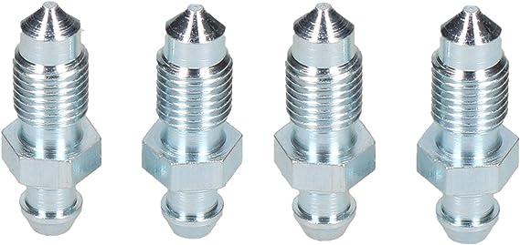Ab Tools 3 8 X24unf Stahl Bremssattel Entlüftungsnippel Schraube Entlüftungsschraube 4pc Baumarkt
