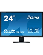 "IIYama e2483hs de B360,96cm (24"") Moniteur Noir"