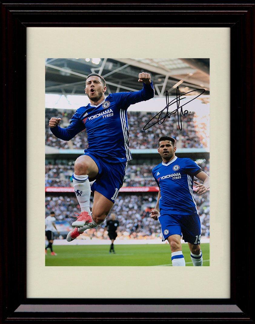 Framed Eden Hazard Hazard Autographレプリカ印刷 – – チームベルギーWorld Cup B07D9LXKYL B07D9LXKYL, カミウラマチ:09be71a7 --- hanjindnb.su