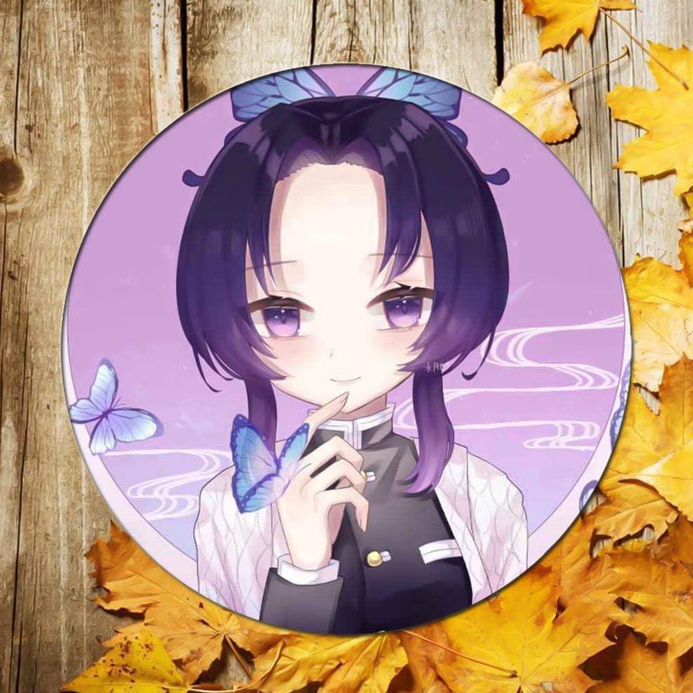 Shanime Demon Slayer Button Pins Kimetsu no Yaiba Cosplay Characters Gift Set Metal Pins 2.28in H05