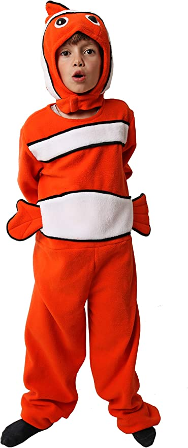 Costumizate! Disfraz de Pez Naranja Talla 5-6 Especial para niños ...