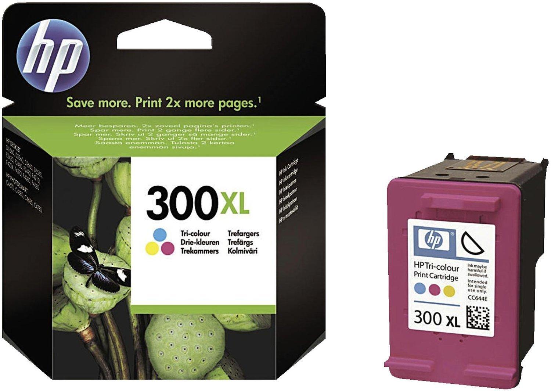 HP 300 - Pack de ahorro de 2 cartuchos de tinta Original HP 300 Negro, Tricolor para HP DeskJet, HP Photosmart, HP ENVY CN637EE B0086DLWV4