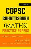 CGPSC Math Mock Test Papers CHHATTISGARH  PSC/SSC: Mocktime Publication