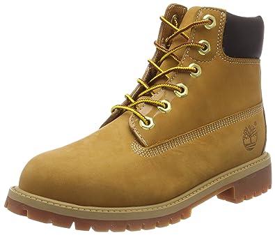 Timberland 6 Inch Classic FTC Premium WP 14949 Unisex-Kinder Stiefel, Beige  (Wheat) 8729cc1867