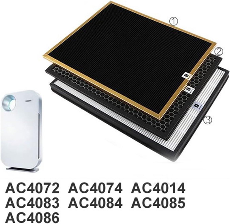 reyee ac4142 Kit de filtro para Philips AC4072 ac4074 ac4083 ...