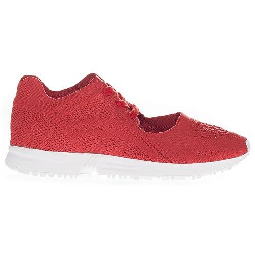 Zapatillas De Red Amazon Adidas Mujer Rojo es Tela White Para Hd4HFwqx5 1f3261c0f8601