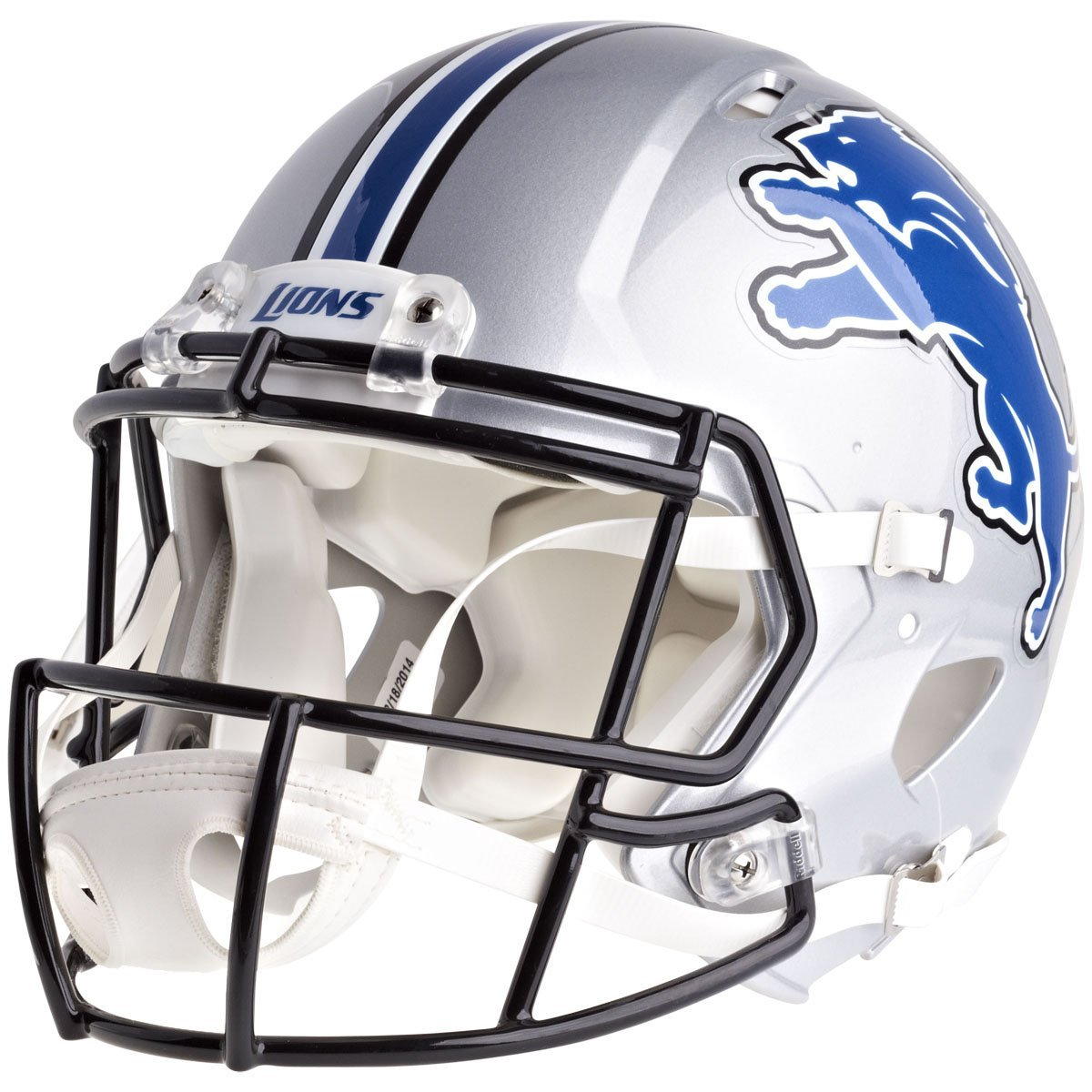 Riddell Revolution 本物 ヘルメット - NFL デトロイトライオンズ (Detroit Lions)   B004VBDY98