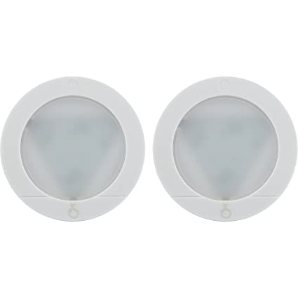 Ge touch activated led puck lights 20 lumens white 25434 ge touch activated led puck lights 20 lumens white 25434 mozeypictures Gallery