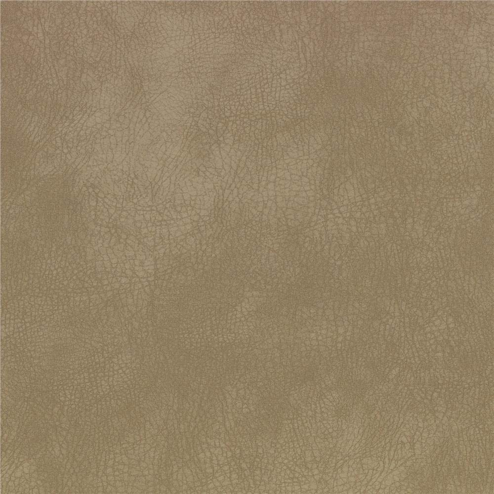 Richloom Tough Soft Faux Leather Kidd Sand Fabric