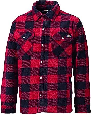 Camisa Modelo Portland para caballero Acolchada para ofrecer calidez,Felpa polar para comodidad,100%