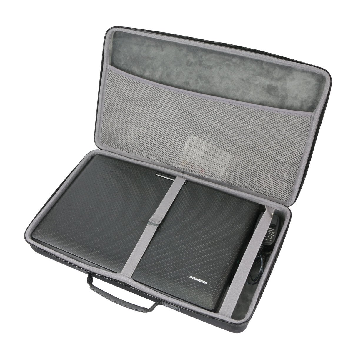 Hard Travel Case for Sylvania 13.3-Inch Swivel Screen Portable DVD Player by co2CREA