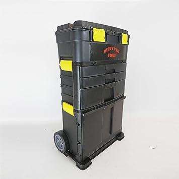 Caja de herramientas con ruedas, Dirty Pro Tools: Amazon.es ...