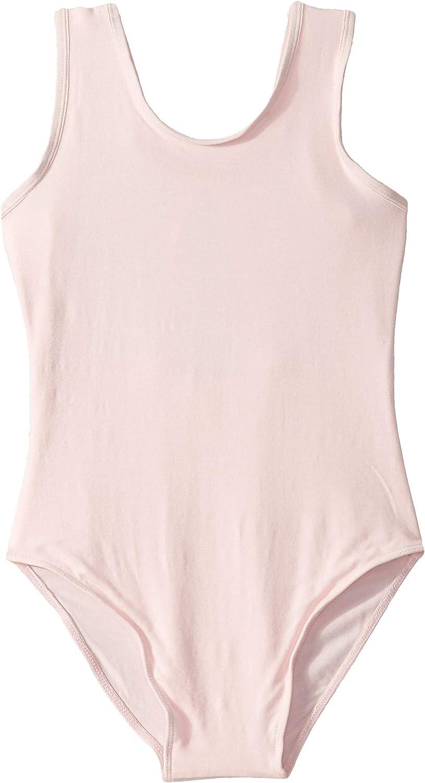 Little Kids//Big Kids Flo Dancewear Girls Sparkle Back Mesh Tank Leotard