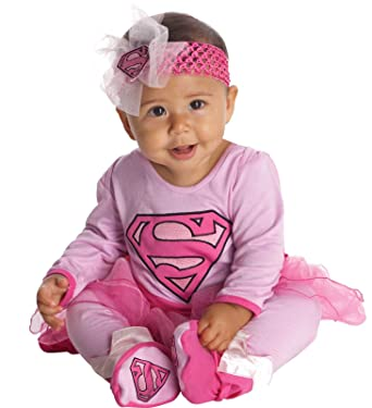 Supergirl Baby Infant Costume - Newborn  sc 1 st  Amazon.com & Amazon.com: Supergirl Baby Infant Costume - Newborn: Clothing