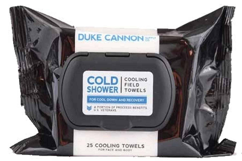 Duke Cannon Ducha fría refrigeración campo toallas de menta fresca (número 25): Amazon.es: Belleza
